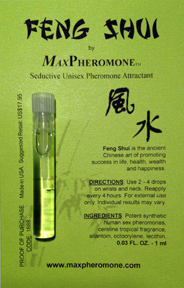 FENG SHUI by MaxPheromone - Seductive Unisex Pheromone Attractant (SCENTED 1 ml)